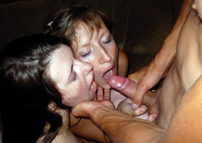 Cumshot in wifes face